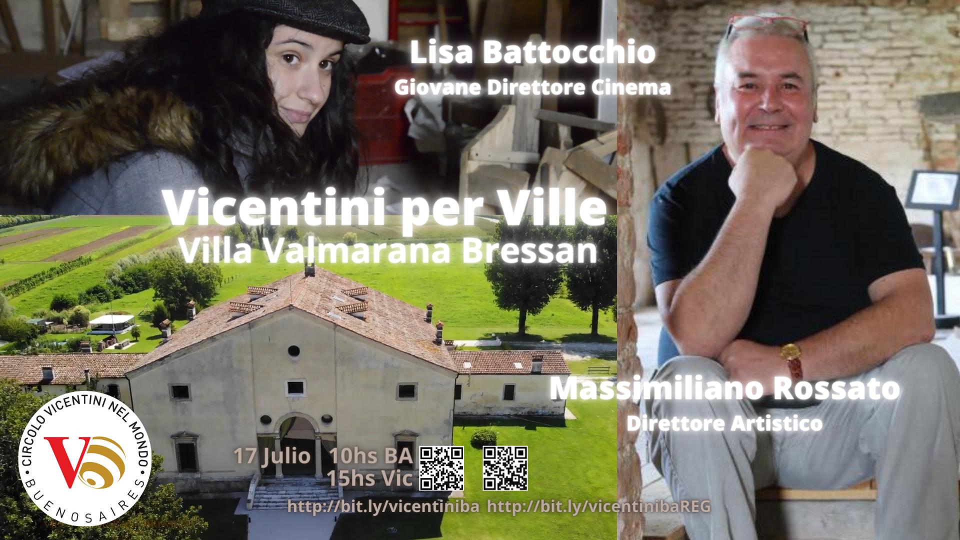Zoom Villa Valmarana Bressan - Palladio